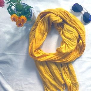 Sunshine Yellow Scarf